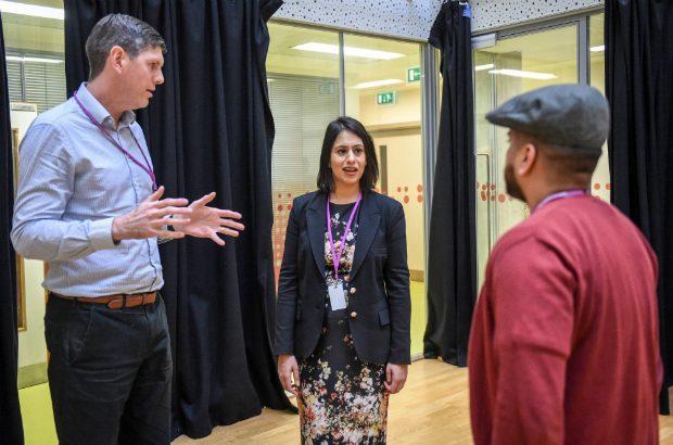 Sara Khan visits Tower Hamlets