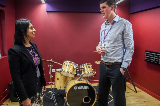Sara visits Tower Hamlets youth charity