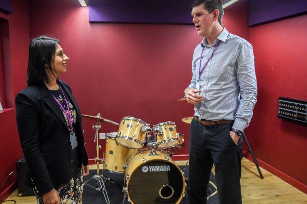 Sara visits Tower Hamlets youth charity