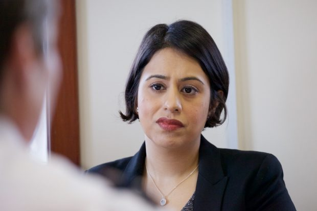 Photo of Lead Commissioner Sara Khan