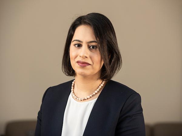Portrait of Sara Khan.